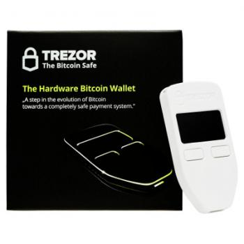 Trezor Hardware Wallet [In Stock]